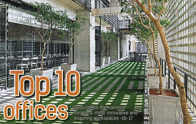 Top 10 offices in Malaysia
